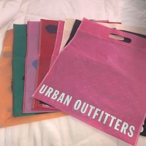 Lot of 8 Urban Outfitters Reusable Bags